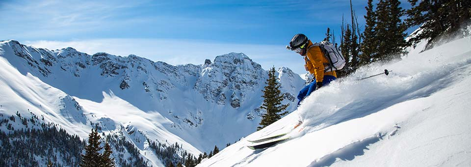 Back country wintersports insurance