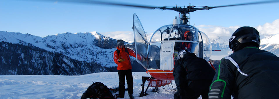 Heli skiing insurance